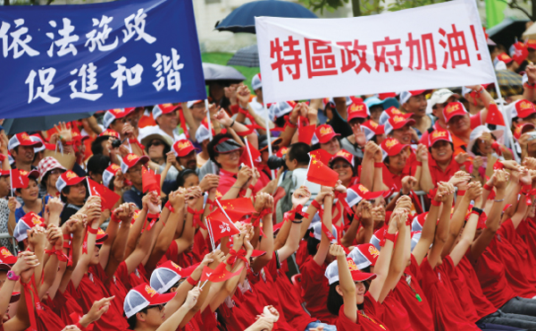 225,000 join in celebration of HKSAR anniversary