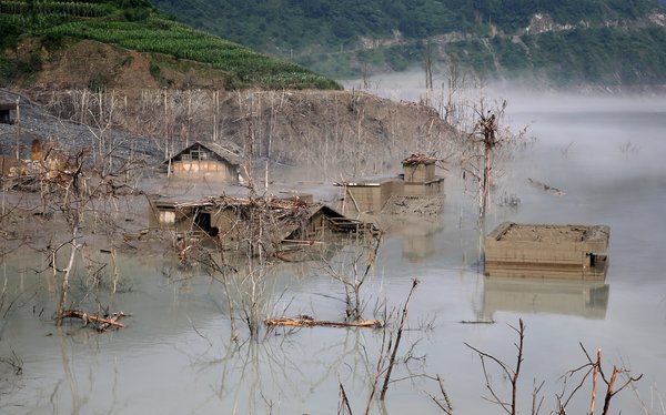 Village re-emerges 5 years after flooding