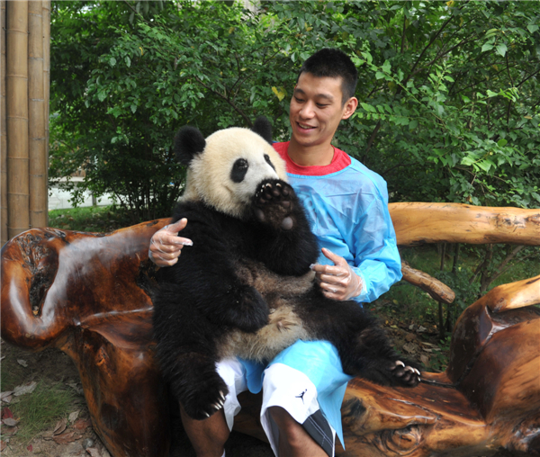 Jeremy Lin's campaign of animal protection