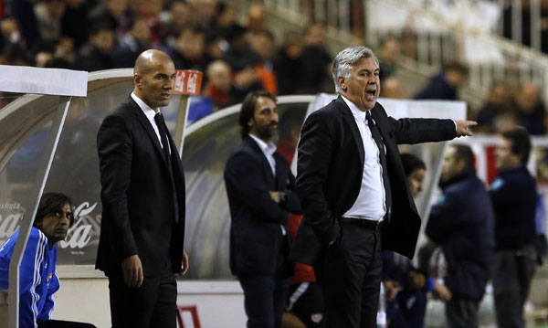 Zidane Real Madrid Coach Real Madrid Coach Carlo