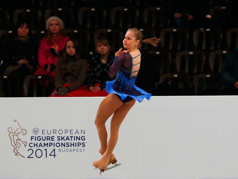 Figure Skating Lipnitskaia Isu European Figure Skating