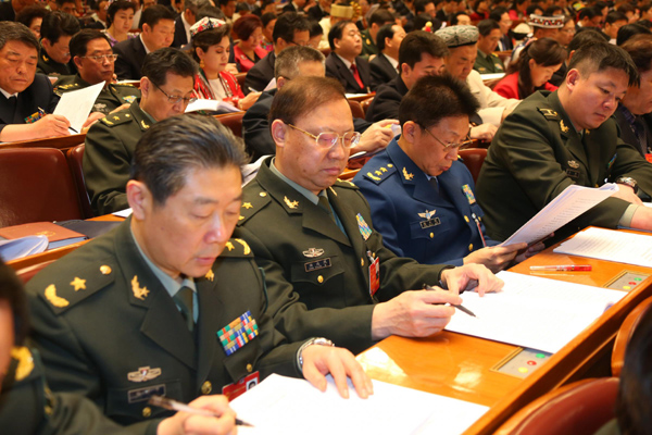 China defense budget to increase 12.2% in 2014