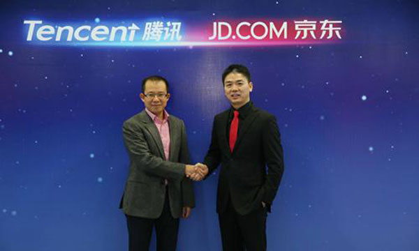 Alliance of Tencent, JD could be a giant slayer