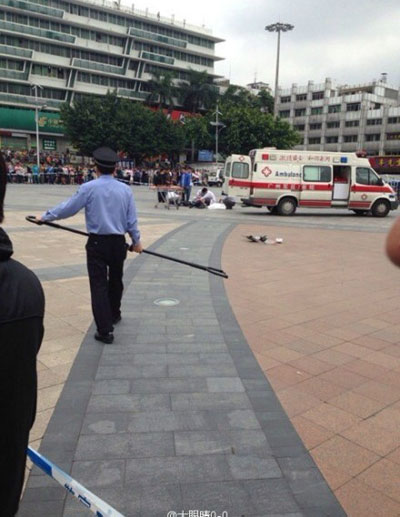 Knife attack injures six at Guangzhou railway station