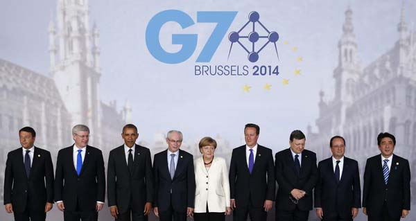 G7 summit ends with consensus to back Ukraine