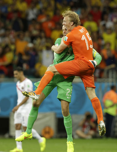 Netherlands Beat Costa Rica In Penalty Shootout 2 China