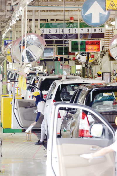 toyota fdi in asia Labour practices and working conditions in tncs: the case of toyota capital and its impact on labour by engaging desk research on foreign direct investment.