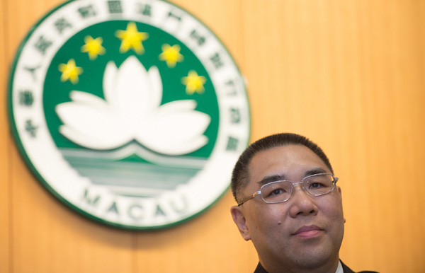 Macao's Chui Sai On wins re-election