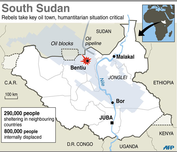 China to send 700 troops to S Sudan to assist UN mission