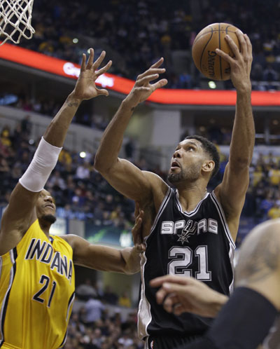 Popovich earns win No. 1,000 as Spurs get past Pacers 95 ...