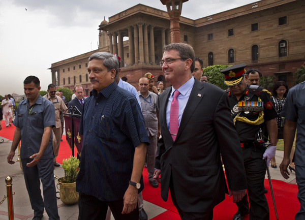 US, India seal deal on military research projects