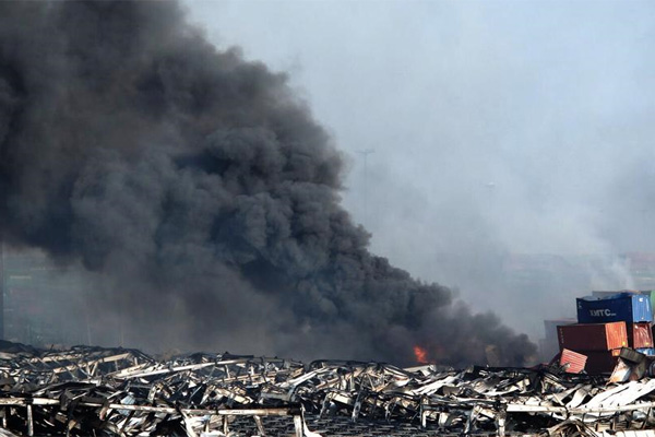 Several detained over Tianjin blasts, 50 die