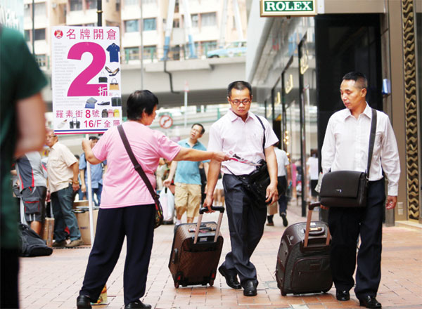 Hong Kong steps up efforts to turn tourist tide