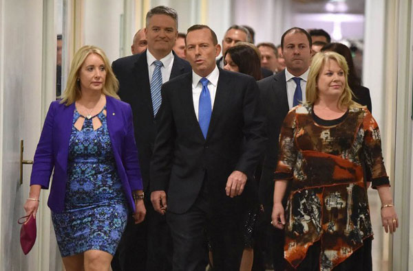 New Australian PM says govt remains strong