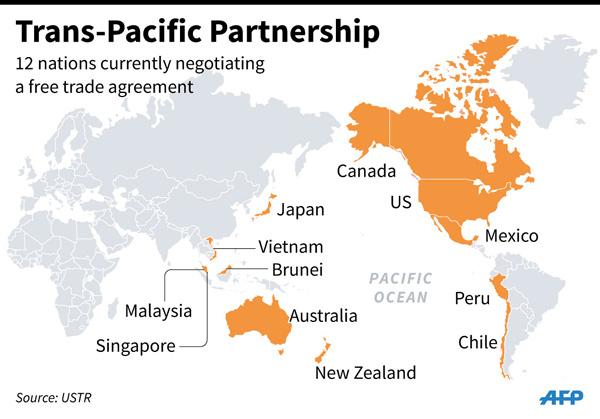 Pacific Trade Talks Near Deal Business China Daily Asia