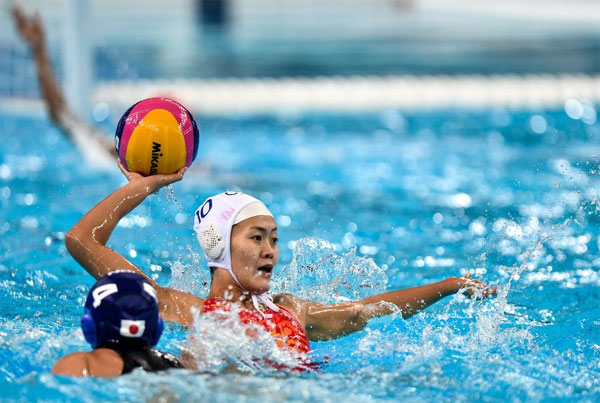 China qualifies for Olympic water polo tourney
