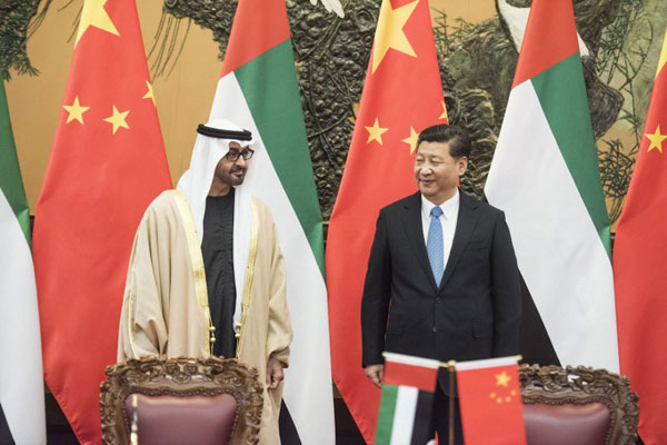 UAE, China agree to set up RMB clearing hub
