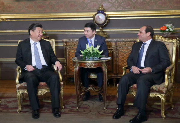 China, Egypt clinch 21 investment deals
