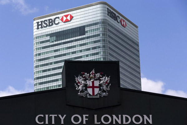 HSBC rejects move to HK, HQ stays in London[1]- China Daily Asia