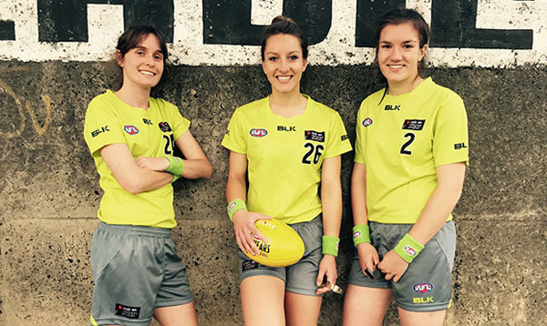 AFL names 1st female umpire in 120-year history 丨 Sports