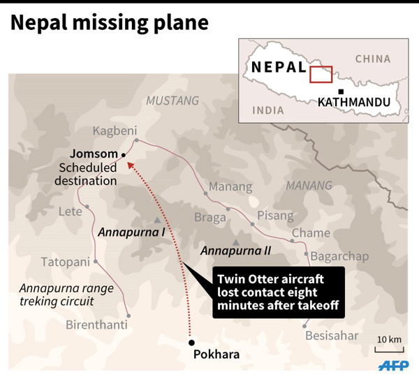 23 dead as Nepal plane crashes