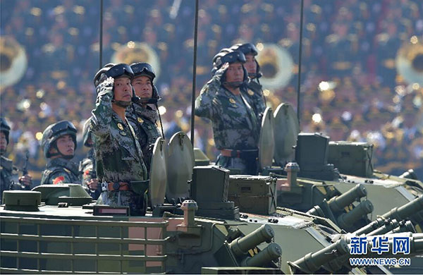 China announces 7.6% defense budget rise