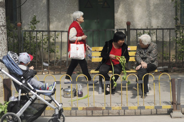 16% of China's population over 60