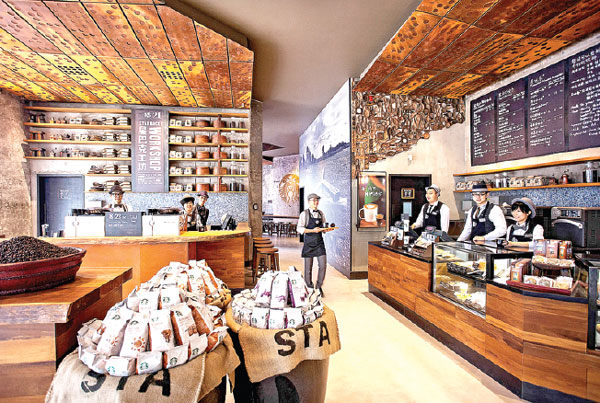 A Tale of Two Countries: Starbucks in India and China