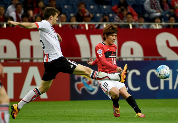 sports soccer reds pounce seoul asian champions league match