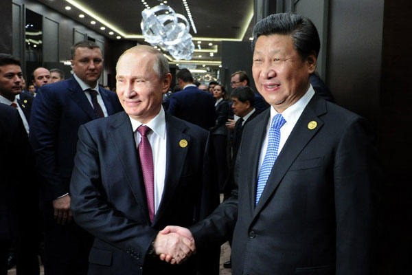 Russia and China are 'close allies'