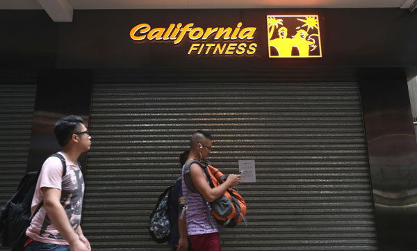 Troubled fitness chain shuts down operations