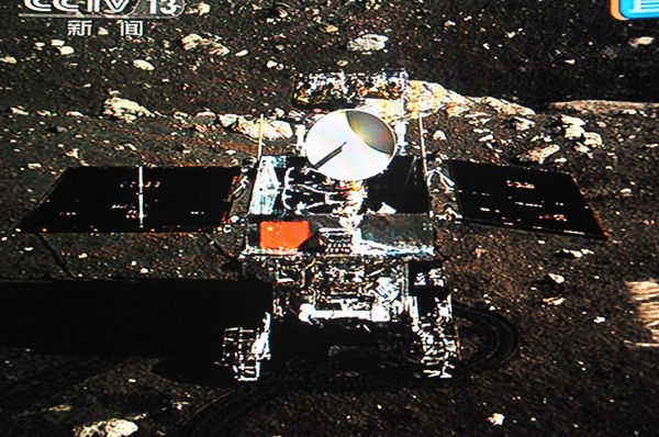 China's lunar rover Jade Rabbit retires