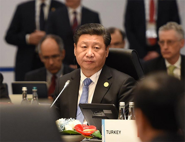 Xi to deliver key speech at G20 summit