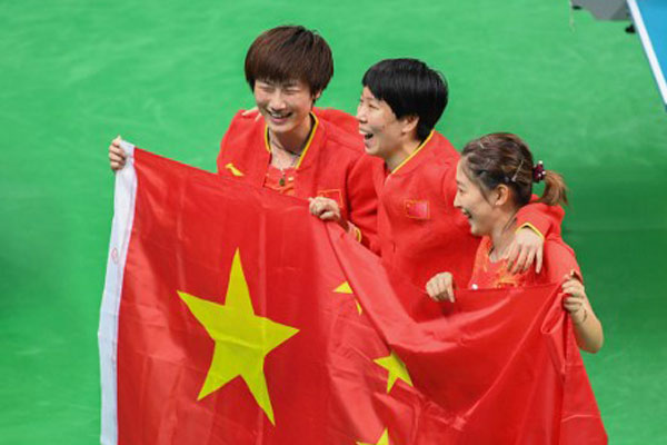 Mainland stars of Rio Olympics to visit HK