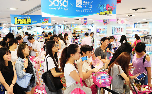 Alipay expands payment services in HK 丨 HK