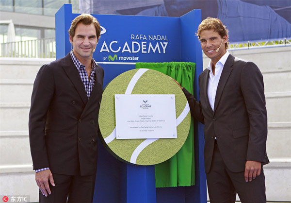 Rafael Nadal Inaugurates Tennis Academy In Spanish Hometown 丨 Sports