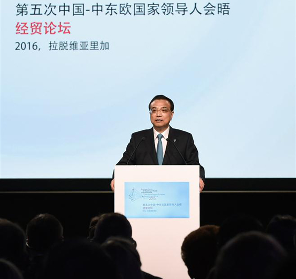 Li: China confident of economic development