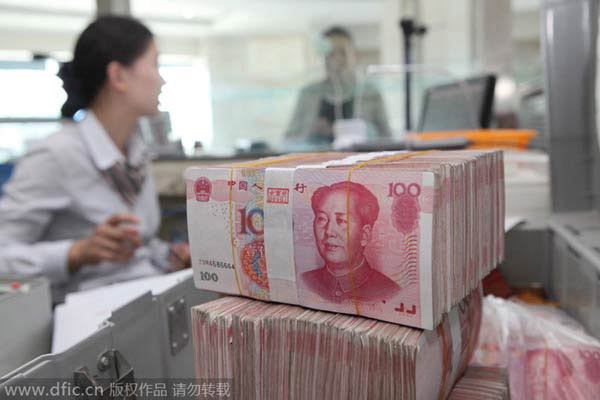 China fiscal revenue picks up