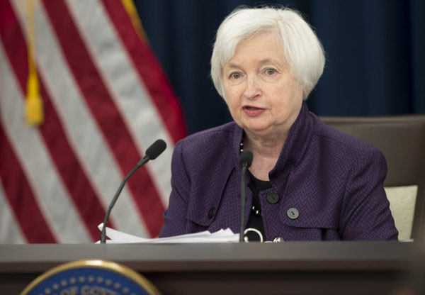 Yellen: Fed could raise interest rates 'relatively soon'