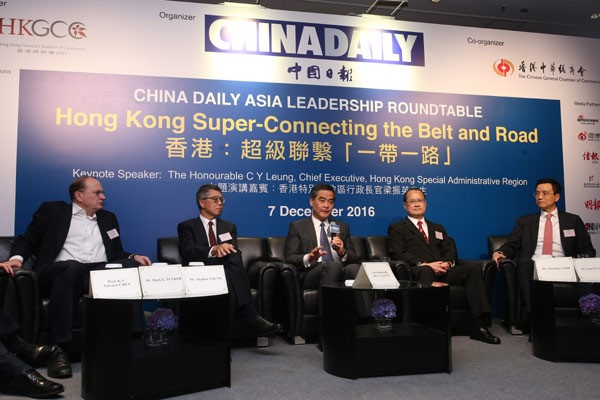 Leung finds big role in Belt and Road