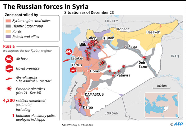 Ceasefire goes into force in Syria