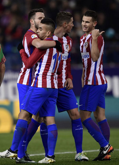 Atletico Madrid Beats Las Palmas 2 0 In Copa Del Rey 丨 Sports