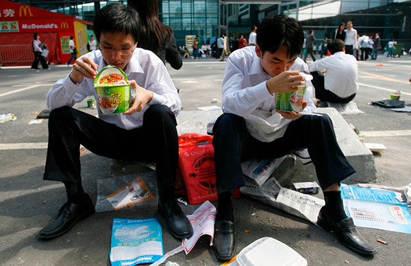 Instant noodles: Simple food, big impact on Chinese people's lives