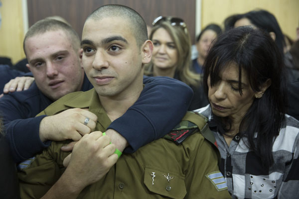 Israeli soldier convicted over killing of Palestinian assailant