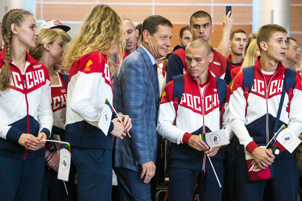Anti-doping leaders call for ban of Russian teams