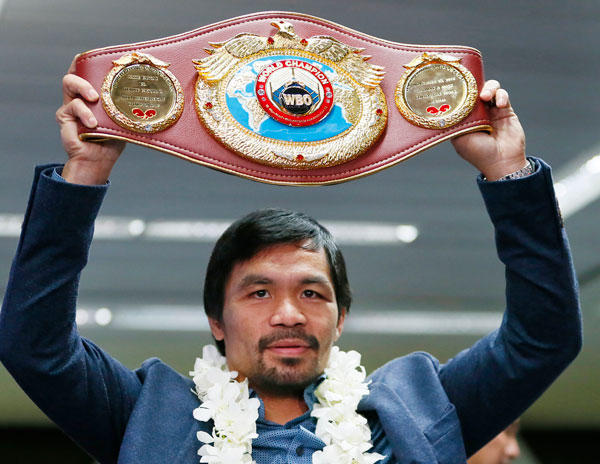 Manny Pacquiao set to return to ring on April 23