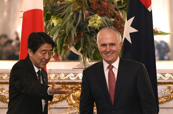 Abe to visit Australia amid unease over US presence in Asia