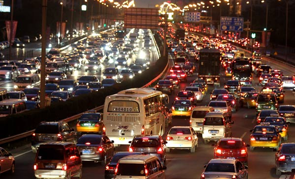 Beijing no longer China's most congested city: Report