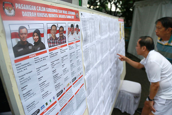 Run-off election for jakarta governor may heighten tensions