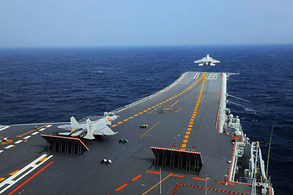 China's second aircraft carrier in shape as navy sets ambitious goals